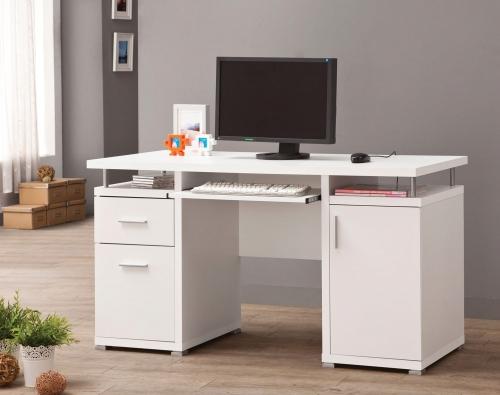 800108 Computer Desk - White