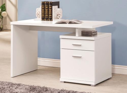 800110 Desk - White