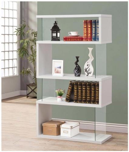 800300 Bookshelf - White