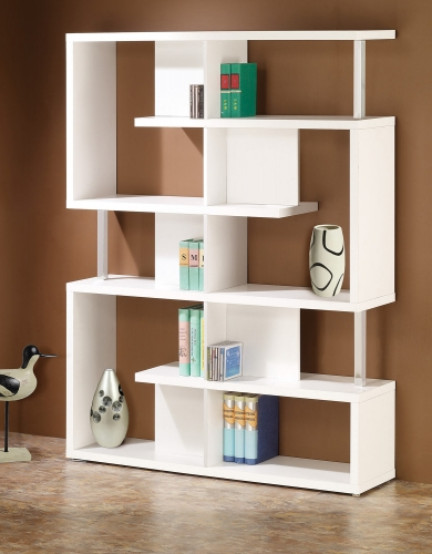 800310 Bookcase - White