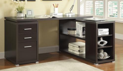 Yvette Office Desk - Cappuccino