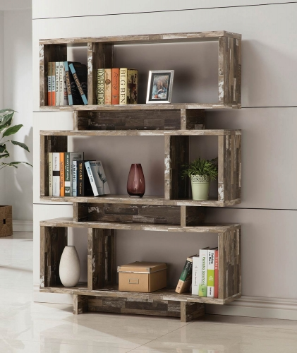 800846 Bookcase - Salvaged Cabin