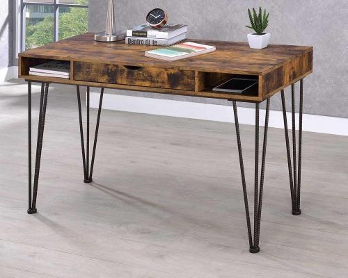 801038 Writing Desk - Antique Nutmeg