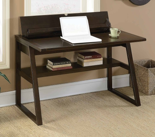 801139 Writing Desk - Chestnut