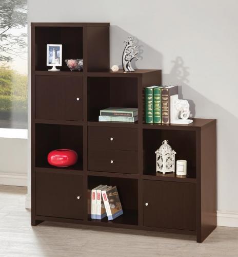 801170 Bookcase - Cappuccino
