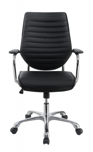 801327 Office Chair - Black/Aluminum
