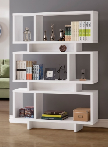 801406 Bookcase - White