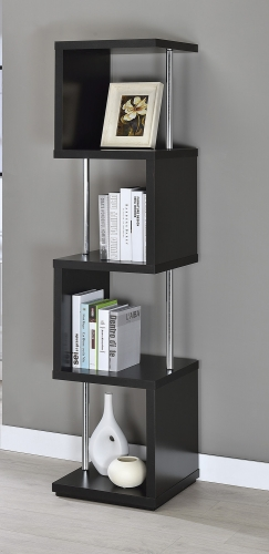 801419 Bookcase - Black