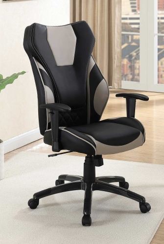 801470 Office Chair - Black/Grey