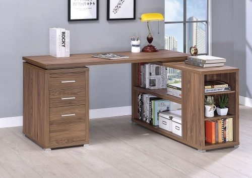 Yvette Office Desk - Elm