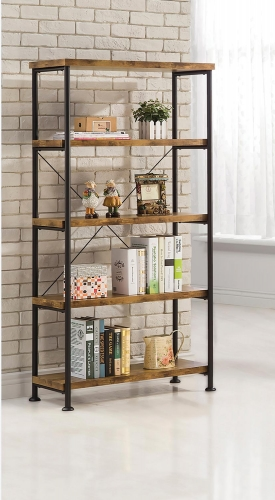 Barritt Bookcase - Antique Nutmeg