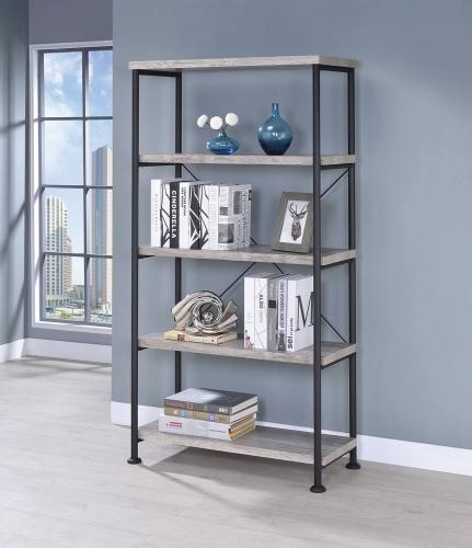Guthrie Bookcase - Grey Driftwood