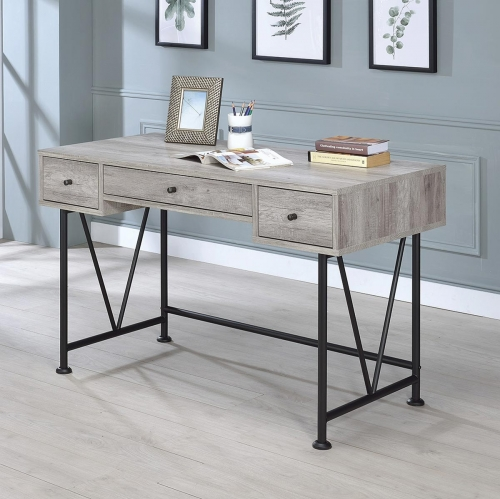 Guthrie Writing Desk - Grey Driftwood