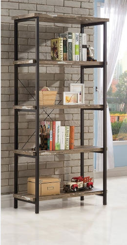 Skelton Bookcase - Salvaged Cabin