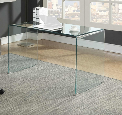 801581 Writing Desk - Chrome