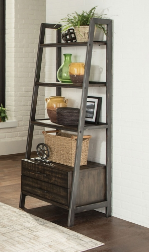 Deponte Bookcase - Burnished Cognac