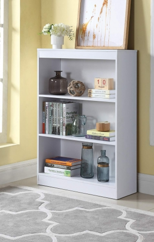 801796 Bookcase - White