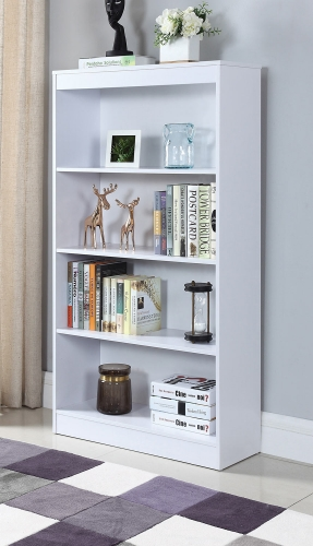 801797 Bookcase - White