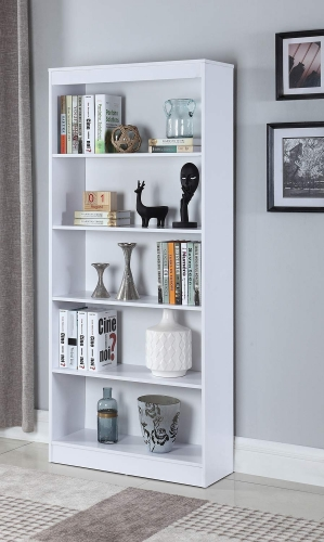 801798 Bookcase - White
