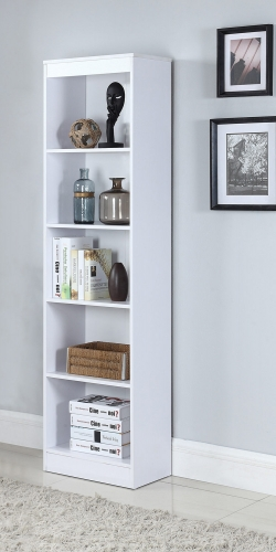 801799 Bookcase - White