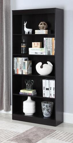 801803 Bookcase - Cappuccino