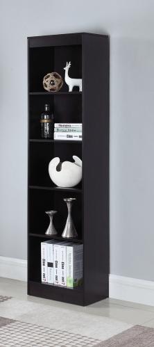 801804 Bookcase - Cappuccino