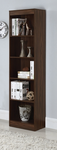 801809 Bookcase - Dark Walnut