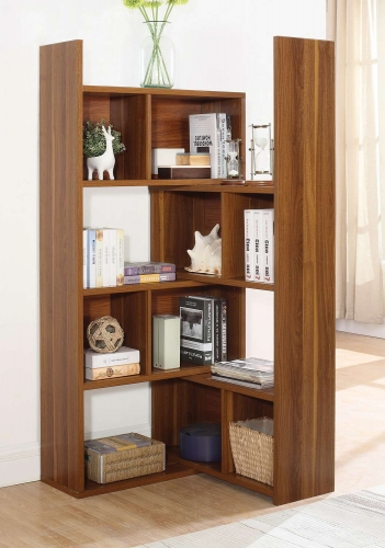801811 Bookcase - Light Walnut
