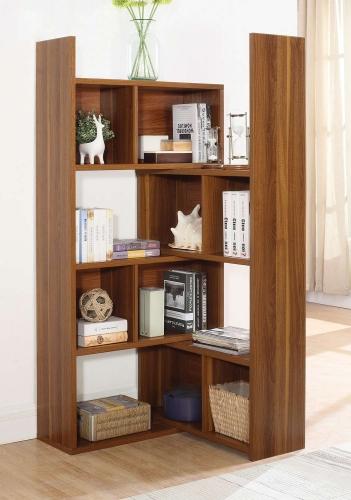 801811 Bookcase - Light Walnut