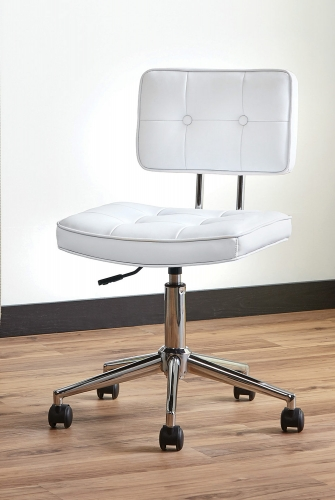 802289 Office Chair - White/Chrome