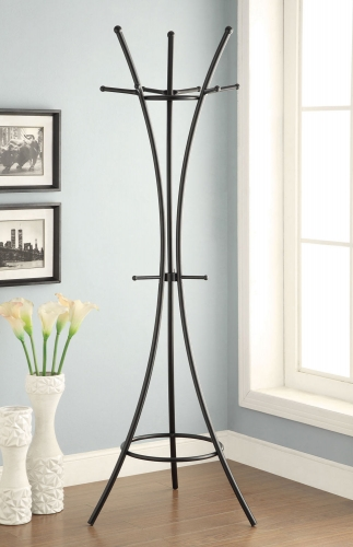 900895 Coat Rack - Black