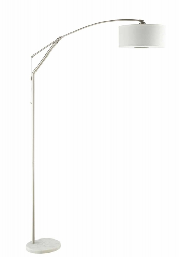 901490 Floor Lamp - Chrome