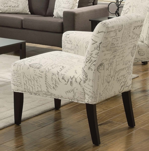 Bachman Accent Chair - Grey