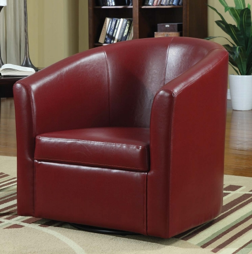 902099 Accent Chair - Red