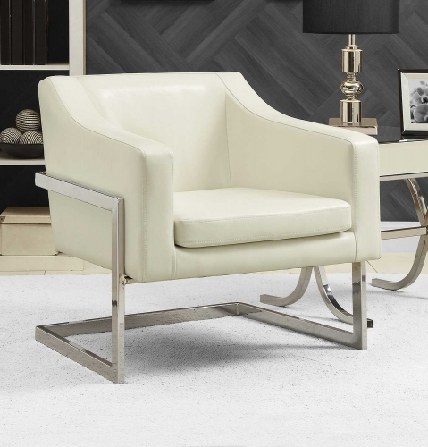 902539 Accent Chair - White