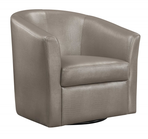 902726 Accent Chair - Champagne