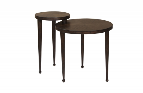903126 Nesting Table - Dark Brown