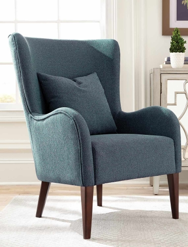 903370 Accent Chair - Atlantic/Cappuccino