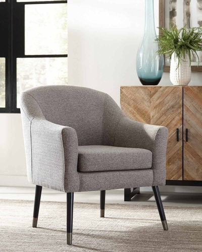 903378 Accent Chair - Grey/Black