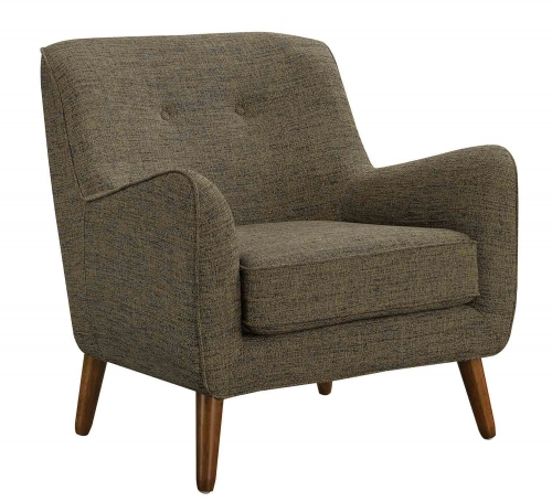 904061 Accent Chair - Yellow/Grey