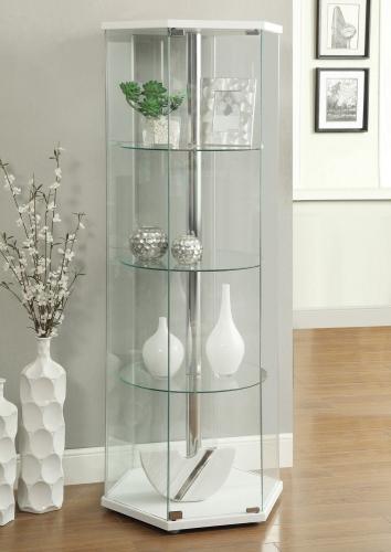 950001 Curio Cabinet - White