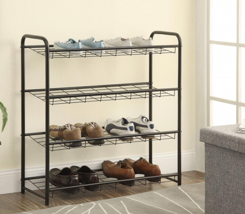 950031 Shoe Rack - Black
