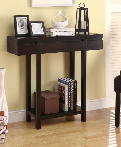 950135 Console Table - Cappuccino