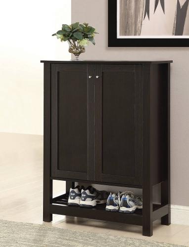 950550 Shoe Cabinet - Cappuccino