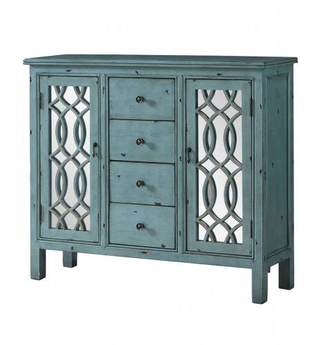 950736 Accent Cabinet - Antique Blue