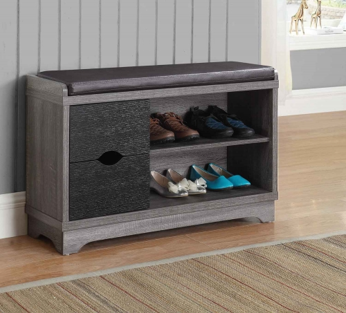950921 Storage Bench - Black