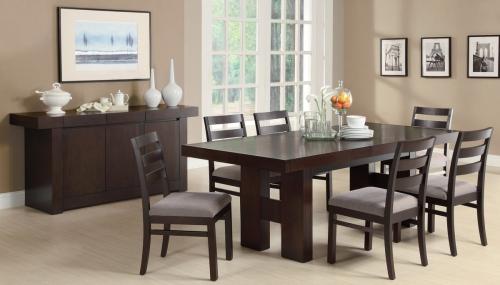 Dabny Dining Set - Cappuccino