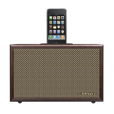 iDeco Universal iPod Dock - Mahogany