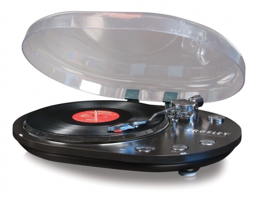 Oval USB Turntable - Black