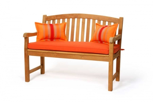Teak Crown Bench